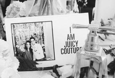Juicy Couture + Proyección pantalla gigante